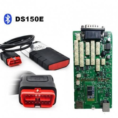 Мультимарочный автосканер Delphi DS150e+USB+Bluetooth