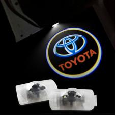 Лазерная проекция логотипа Toyota