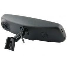 Зеркало заднего вида с монитором, видеорегистратором и креплением