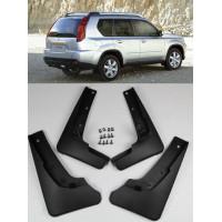 Брызговики Nissan X-Trail 2007-2012 с шурупами и креплениями