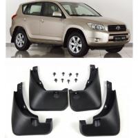 Брызговики для Toyota RAV4 2005-2012 с шурупами и креплениями без фендеров