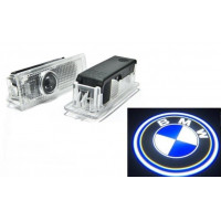 Проекция логотипа BMW