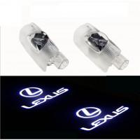 Лазерная проекция логотипа Lexus